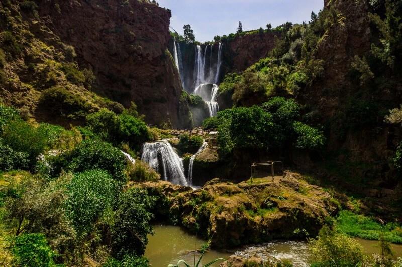 les cascades d'Ouzoud Azilal